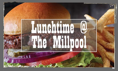 lunchtime at The Millpool